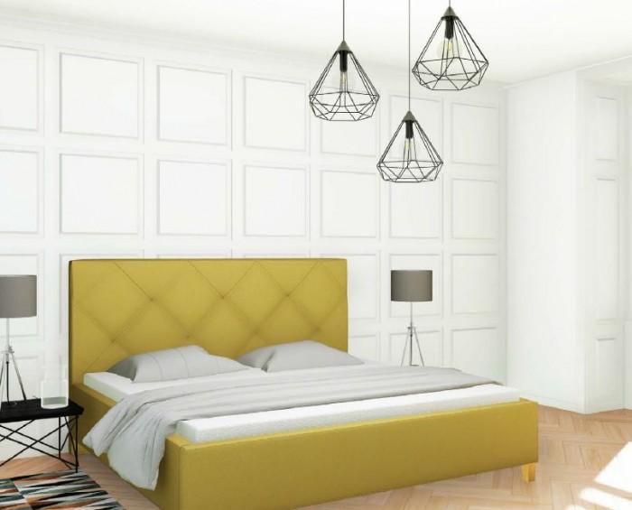 Slumberland Oxford čalouněná postel