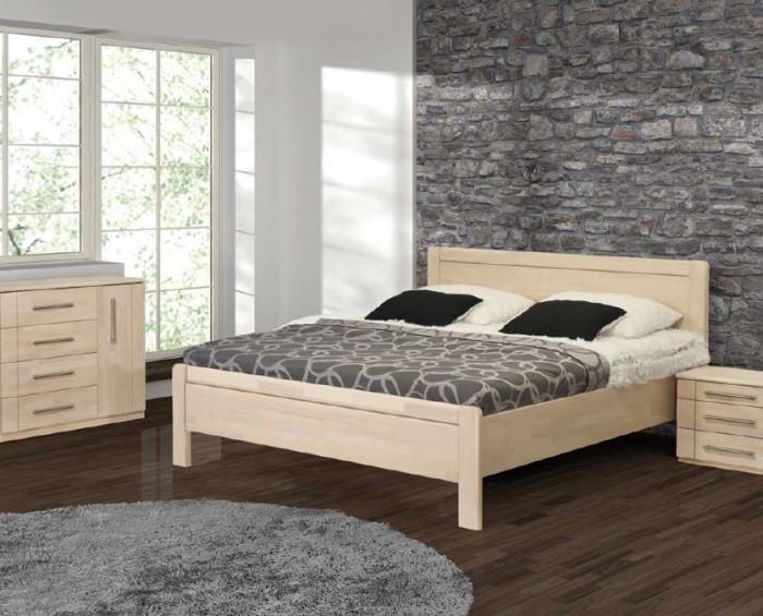 Vykona masivní buková postel Romana