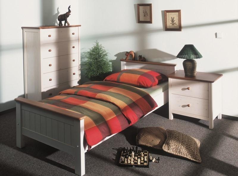 09df50b740d4 Gazel postel Anny 90 bílo-hnědá + Akce