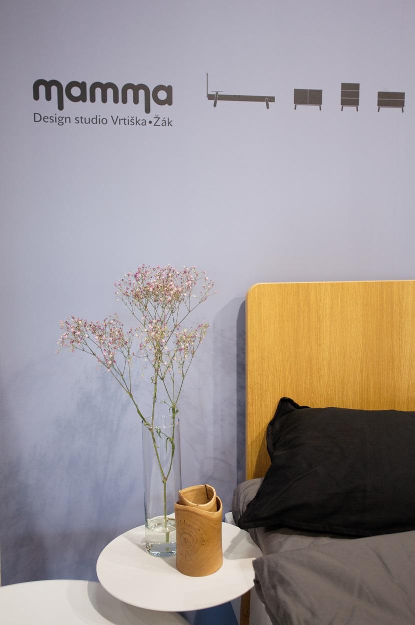 2265dd2428 Jitona Mamma postel dřevěné čelo - 180 x 200 cm