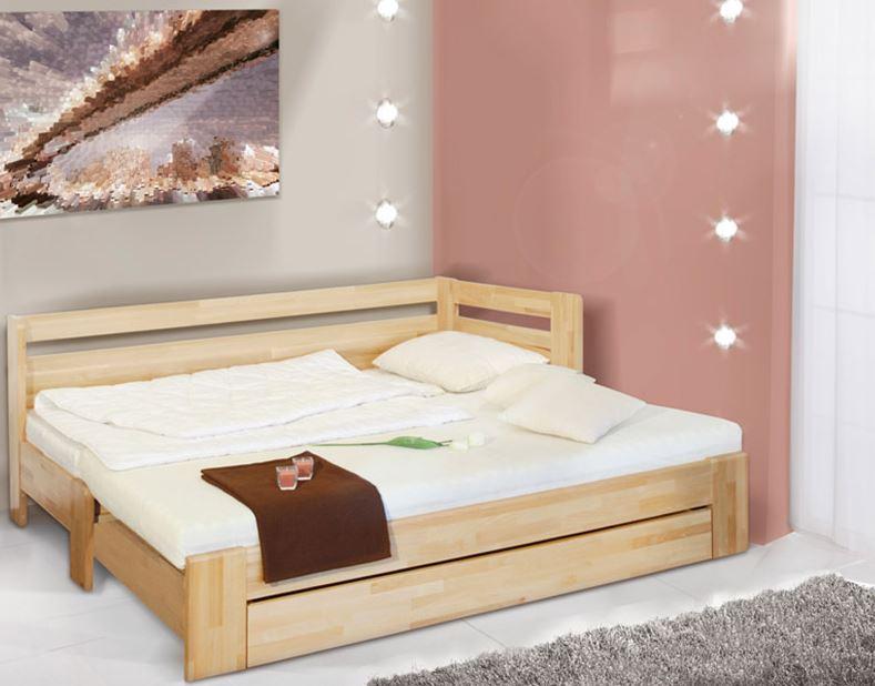 Vykona Duo Lux rozkládací postel se zásuvkou  82d334df510